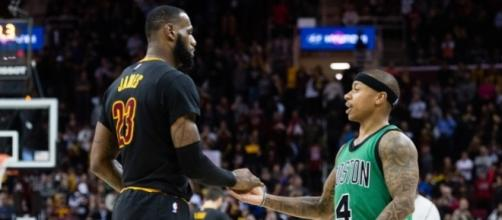 LeBron James Calls Isaiah Thomas 'a Clear-Cut Star' - slamonline.com