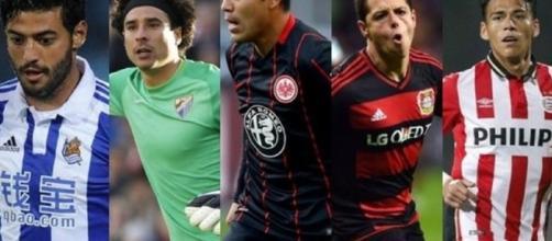No avanza la mayoría de clubes con mexicanos en Europa.