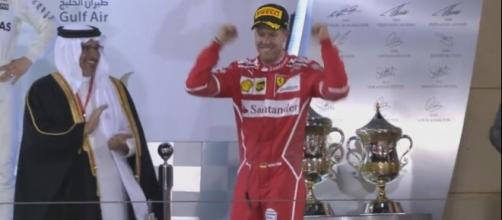 Vettel won Bahrain Grand Prix, FORMULA 1 Youtube channel https://www.youtube.com/watch?v=6yXvIbKXehw