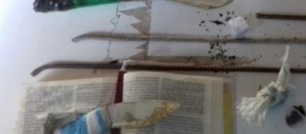 Bíblia era usada para esconder drogas