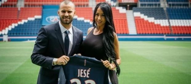 EN IMAGES. PSG : Jesé et sa petite amie au Parc des Princes - Le ... - leparisien.fr