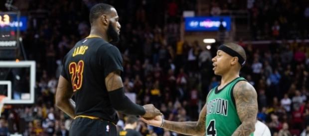 LeBron James Calls Isaiah Thomas 'a Clear-Cut Star' - slamonline.com