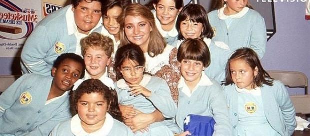 Os atores e atrizes cresceram e mudaram bastante