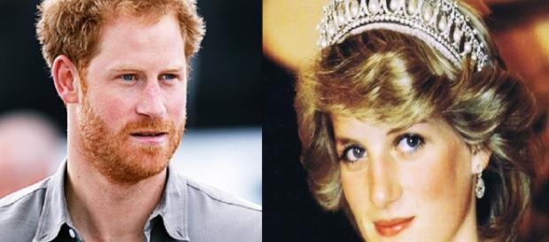 Príncipe Harry e Princesa Diana