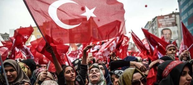 Willkommen im Mittelalter: Türkei. (Source URG Suisse: Blasting.News Archives)