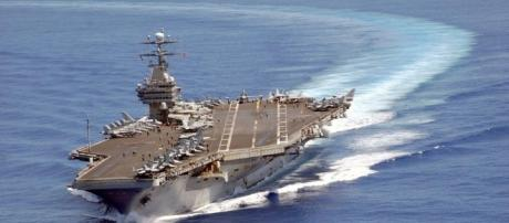 Trumps North Korean armada was actually headed for joint exercises with Australian Navy 3,500 miles away in the Indian Ocean