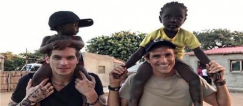 Gianecchini fala sobre amizade com rapaz e viagem