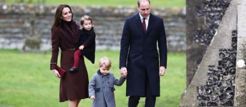 Kate Middleton, Prince William with their kids / Photo via inquisitr.com