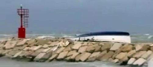 Naufragio nel porto di Rimini, 2 morti
