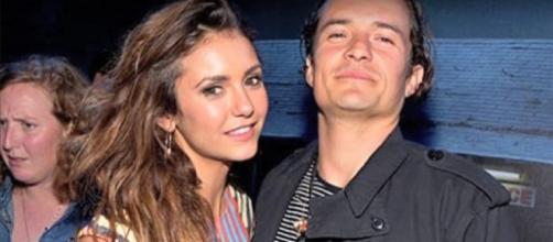 Nina Dobrev, Orlando Bloom - YouTube screenshot