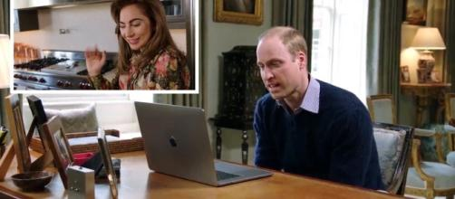 Prince William FaceTimes Lady Gaga to talk about mental health ... - mirror.co.uk