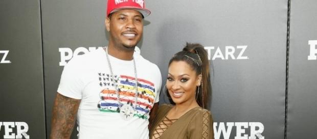 Carmelo and La La Anthony are reportedly separated, living in ... - sportingnews.com