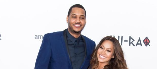 Carmelo and La La Anthony ... - nydailynews.com