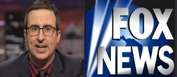 John Oliver, Fox News, via Twitter
