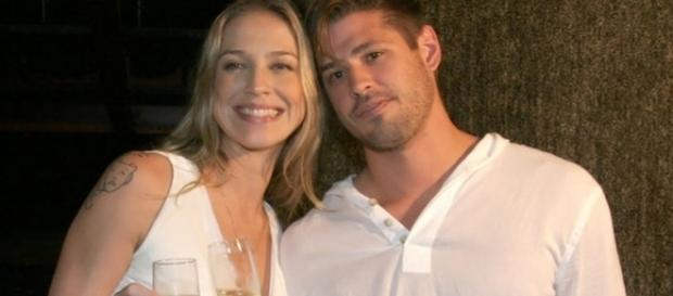 Luana e Dado na época em que eram um casal