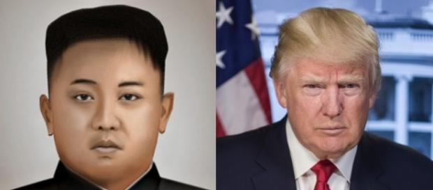 North Korean leader Kim Jong Un and U.S. President Donald J. Trump are seen in a composite photo (Photo: P388388, U.S. government/Wikimedia Commons)