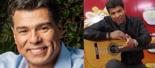 O ator cantou fez um comercial que gerou grande repercussão na internet