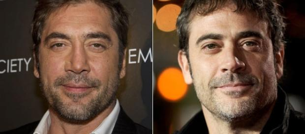 Parece se tratar da mesma pessoa, mas não é, um é espanhol, casado com uma atriz, e o outro é um ator americano