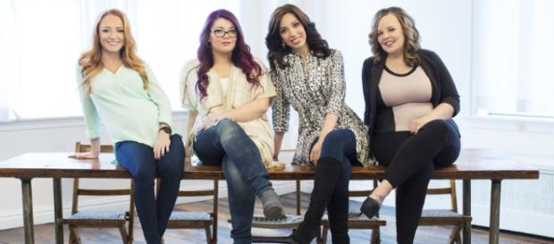 Teen Mom OG cast photo via BN library