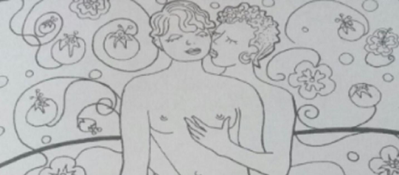 Contemporáneo Libro De Colorear De Posición Sexual Patrón - Dibujos ...