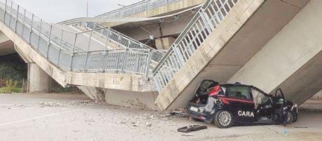 Crolla un altro viadotto: carabinieri vivi per miracolo - ilfattoquotidiano.it