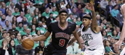 Bulls take 2-0 lead on top-seeded Celtics | The Japan Times - japantimes.co.jp