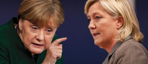 El juego de Damas quizá continúe Marine Le Pen Vs. Ängela Merkel.