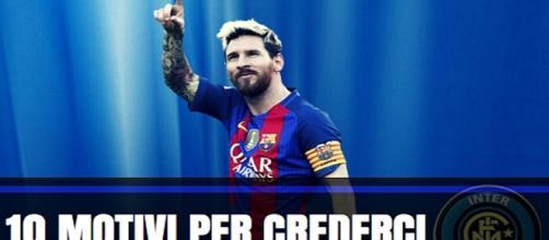 Inter, possibile il sogno Leo Messi