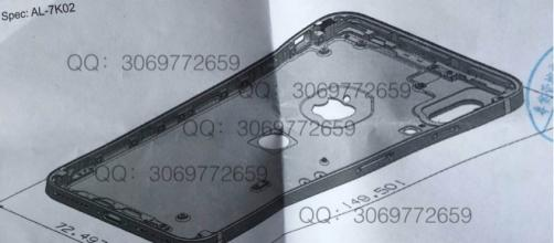 iPhone 8 leaked schematic diagram reveals Touch ID & possible AR feature (http://cdn.bgr.com)