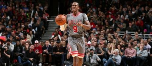 Rajon Rondo Benched, Meets With Bulls GM About Future - slamonline.com