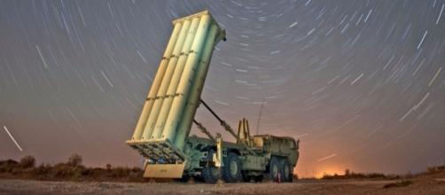 THAAD missile-defense systems / Photo by businessinsider.com via Blasting News library