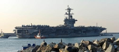 USS Carl Vinson visits S. Korean port city in move sure to irk the / Photo by stripes.com via Blasting News library