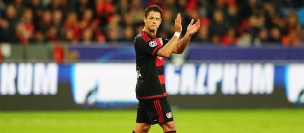 Champions: Chicharito Hernández y su primer gol con el Bayer ... - as.com