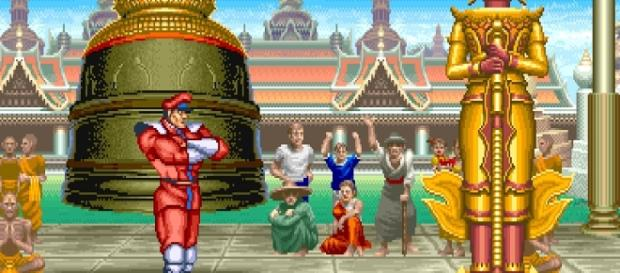 Street Fighter II M. Bison's Stage Poster – Nerdemia - nerdemia.com