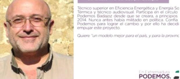 Suspendido un candidato de Podemos por un caso de corrupción de ... - telecinco.es