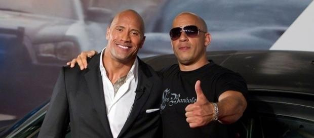 Was the Fast 8 Feud Between Dwayne Johnson and Vin Diesel a Hoax? - yahoo.com