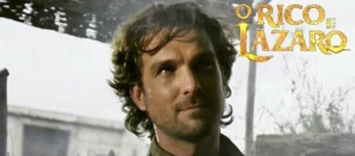 Ator Igor Rickli vive Zac na novela 'O Rico e Lázaro'