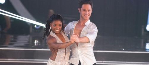Dancing With the Stars': Simone Biles soars in Season 24 - Photo: Blasting News Library - mercurynews.com