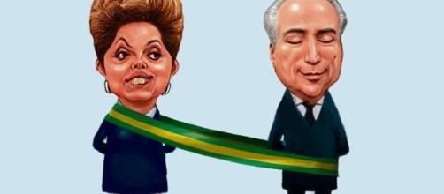 Michel Temer foi vice de Dilma Rousseff na eleição de 2014
