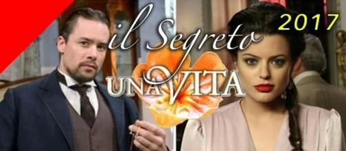 Il Segreto e Una Vita in prima serata da domenica 9 aprile 2017.