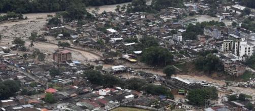 Lastimosas imágenes que dan cuenta de la tragedia de Mocoa, en Colombia