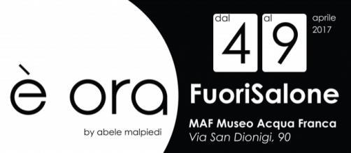 L'orologio concettuale di Abele Malpiedi al Fuorisalone 2017