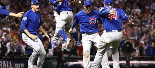 Los Cubs ganaron la Serie Mundial el año pasado.