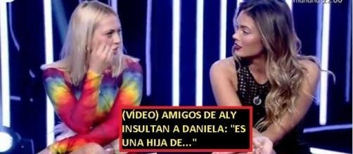 Polémica en las redes por los insultos a Daniela por parte de amigos de Alyson