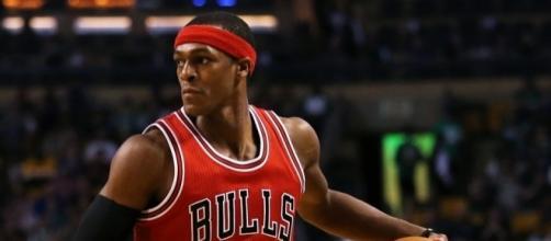 Rajon Rondo scored 25 points in the Bulls' win over Atlanta on Saturday. [Image via Blasting News image library/inquisitr.com]