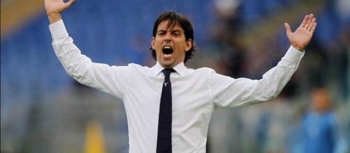 Simone Inzaghi Roma-Lazio Tim Cup