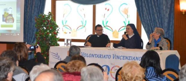 Agrigento, Suor Antonella Solidoro al convegno dei Gruppi di Volontariato Vincenziano della Sicilia