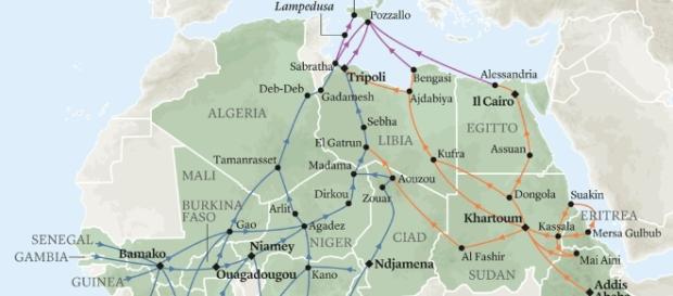 Crescente instabilità negli stati nordafricani