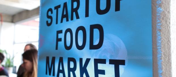 Der Startup Food Market. Das erste Mal und ein voller Erfolg. (©Stefan Hermansdorfer)