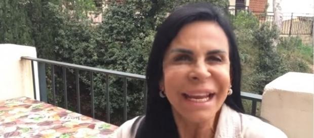 Gretchen fez todo mundo acreditar em sua brincadeira de 1º de abril (Foto: Reprodução/Youtube)